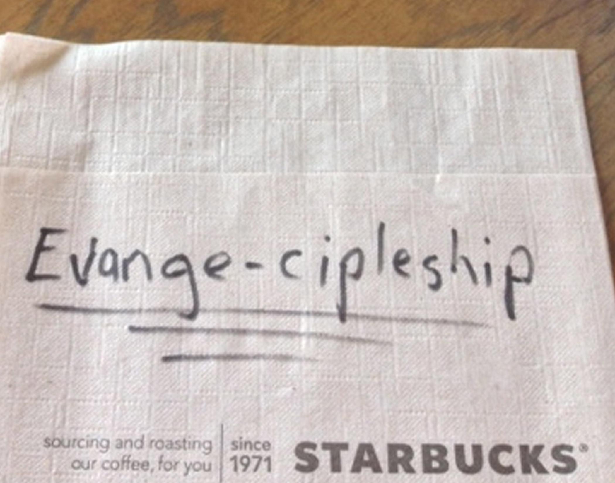 evange-cipleship