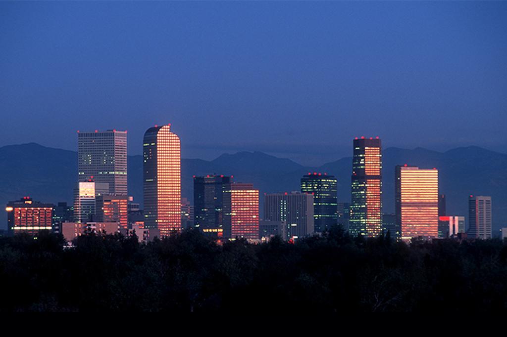 Denver City Scape