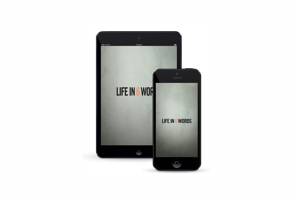 Life-in-6-Words-App