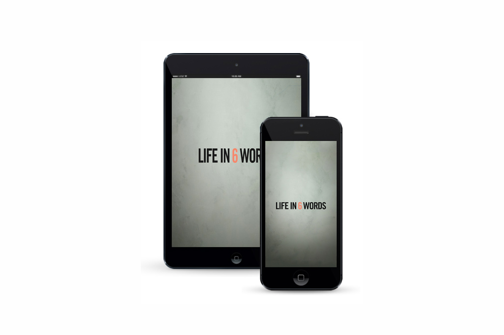 Life-in-6-Words-App