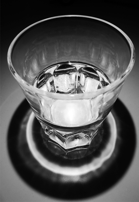Glass of Clear Water