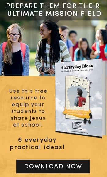 Download a free resource to help students share Jesus at school